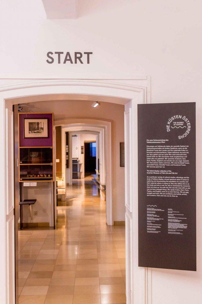 Küsten Österreichs Dauerausstellung Volkskundemuseum Flucht und Migration